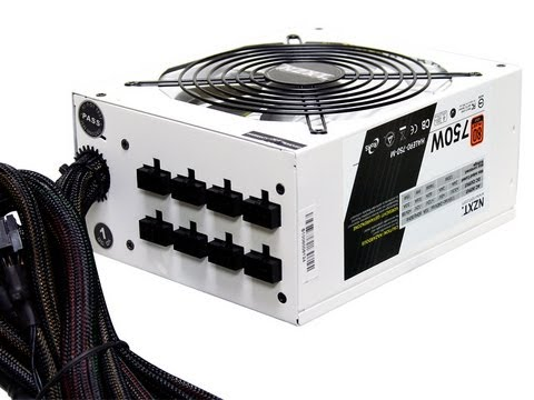 NZXT HALE90 750 Watt 80Plus Gold Power Supply Review