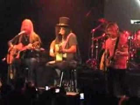 Jerry Cantrell&Slash @ NYC 04.17.08 Wish You Were Here
