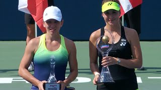 2015 Rogers Cup Final WTA Highlights | Belinda Bencic vs Simona Halep