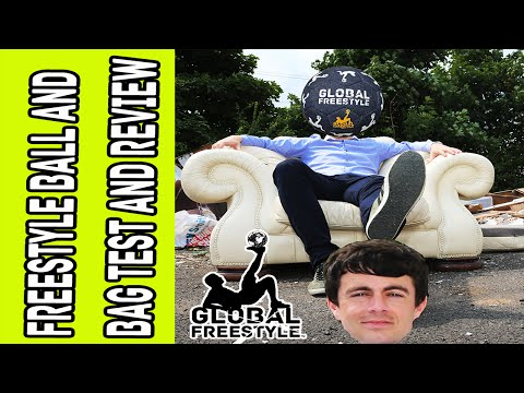 Football Freestyle ball / Street Soccer Ball & Bag Test and Review