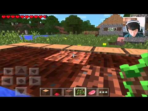 Minecraft PE Survival: Ep. 1 I LOVE 0.9.0