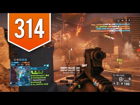Battlefield 4 (ps4) - Road To Colonel - Live Multiplayer Gameplay #314 - Going In Solo! video