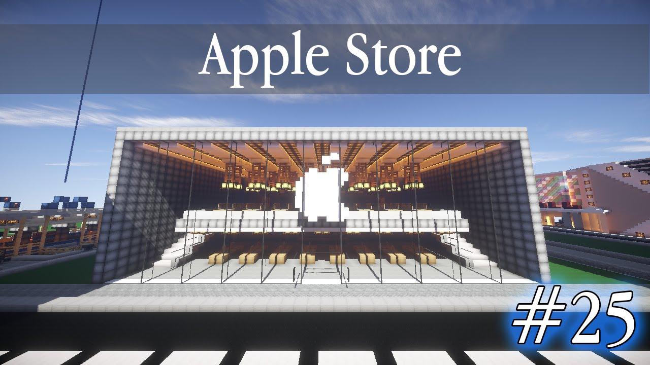 Apple Store Minecraft 25 Apple Store в Minecraft