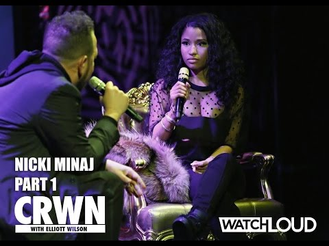 Nicki Minaj Sits w/ Elliott Wilson in CRWN Interview