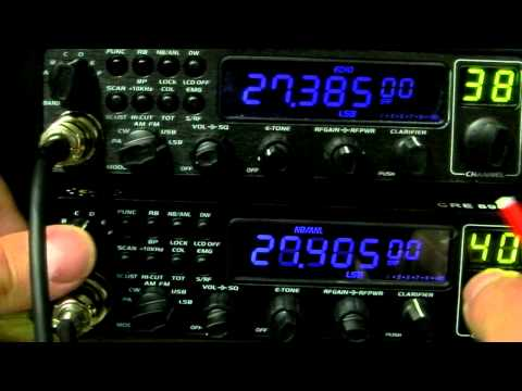 CRE 8900 10 Meter Export Radio - Version 2