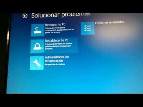 Restaura a estado de fabrica HP  all in one PC restore to factory settings windows 8