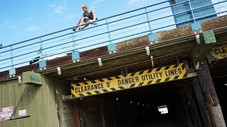 Parkour at the Pier!! *PARKOURSE CHALLENGE*