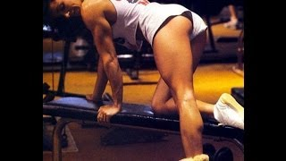 Стоны фитоняшек Gladys Portugues Тренировка Sexy Muscle Girl | Bodybuilding