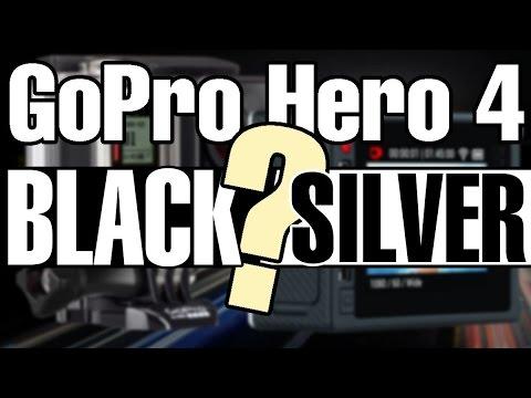 GoPro Hero 4 – Black или Silver? Какую камеру выбрать? Плюсы и минусы GoPro Silver и Black.
