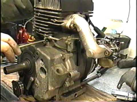 TEARDOWN OF ANOTHER BLOWN UP 10HP TECUMSEH SNOWBLOWER ENGINE