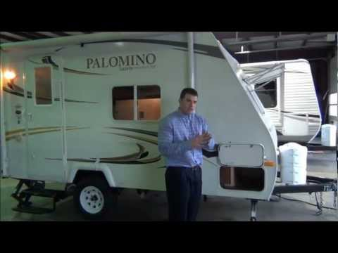 New 2011 Palomino Gazelle 152 Light Weight Travel Trailer
