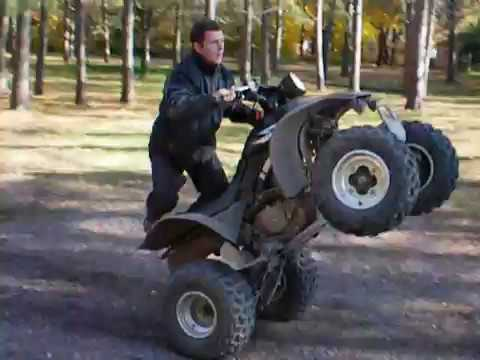 honda trx 300 ex wheelie Video