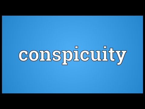 Header of conspicuity