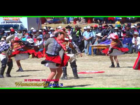 Danza: Los Arrancadores.D.R. de la I.E.56248 -Santo tomas.