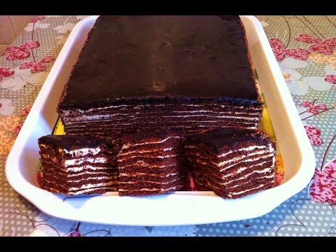Пошаговое приготовление шоколадного торта с