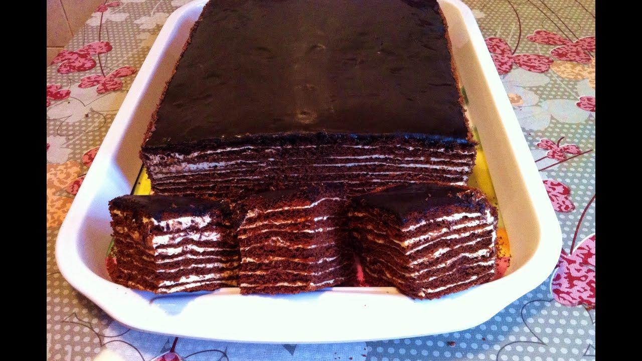 Шоколадный торт пошаговый рецепт с быстро