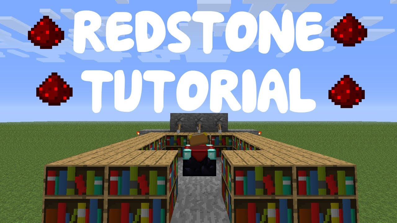 Minecraft 1 8 Redstone Tutorial Compact Enchanting Room