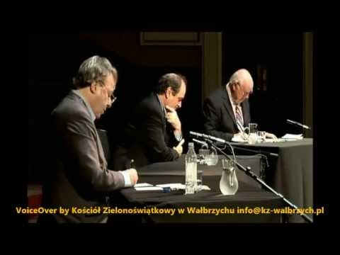 Fragment Debaty   Christopher Hitchens Vs John Lennox   Polski Lektor