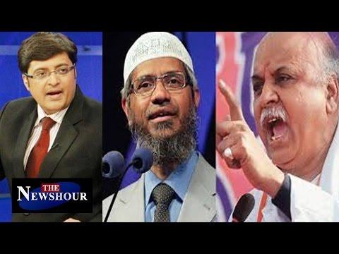 Dr Zakir Naik and Pravin Togadia Ban In Karnataka : The Newshour Debate (30th Dec 2015)