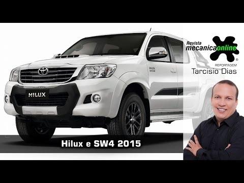 Toyota Hilux e SW4 2015