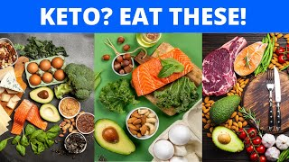 16 FOODS TO EAT ON A KETOGENIC DIET -- Ketogenic Diet Foods.