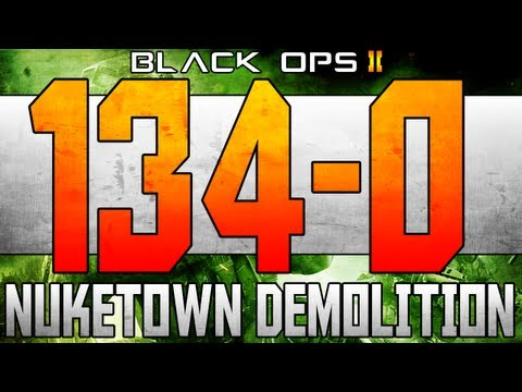 Black Ops 2: Flawless 134-0 Nuketown 2025 Demolition Spawn Trap