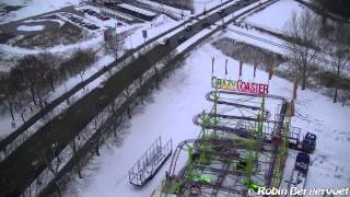 Booster Maxxx Onride (In The Snow!) Fairground Apeldoorn 2013