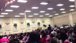 Past. Audalus Estime 50days of praise at Maranatha SDA Church in Broward 3