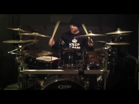SLICE OF YOUR PIE - MOTLEY CRUE - DRUM COVER BY BRUCE DRUEY