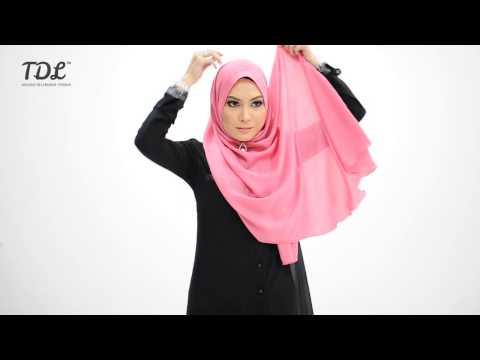 Dua Cara Menggayakan Shawl Sephia Oleh Tdl video