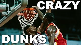 Dominique Wilkins CRAZY Dunk Reel! Over 10 Minutes Of Highlights