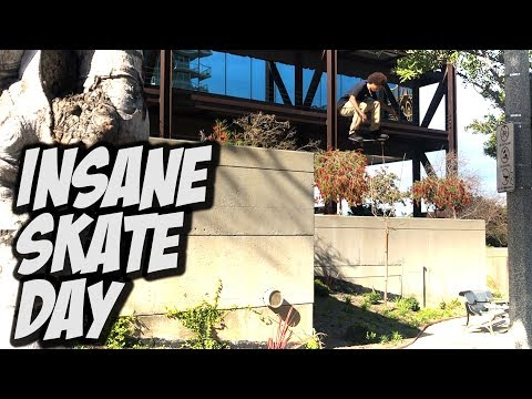 INSANE SKATE DAY WITH DARRIUS AND MAURICE JORDAN !!! - NKA VIDS -