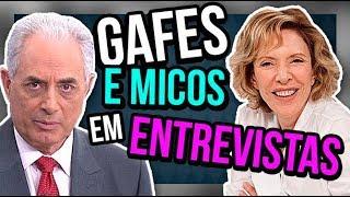 TOP 10 DA DIVA - MICOS e TRETAS em entrevistas feat. Foquinha   Diva Depressão