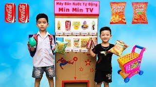 Trò Chơi Máy Bán Hàng Tự Động Thần Kì ♥ Min Min TV Minh Khoa ♥