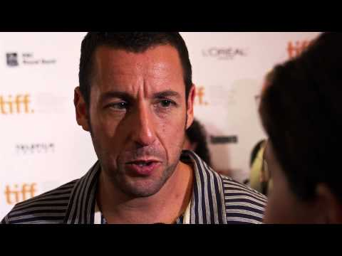 Adam Sandler Interview on the TIFF Red Carpet Premiere of Hotel Transylvania
