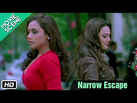 Narrow Escape - Kabhi Alvida na Kehna (Scene) | HQ