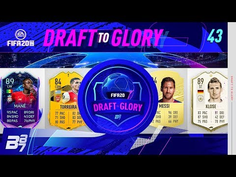 THIS ROAD TO THE FINAL CARD IS MAD! | FIFA 20 DRAFT TO GLORY #43