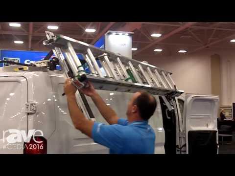 CEDIA 2016: Adrian Steel Presents Drop Down Aluminum Ladder Rack
