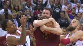 Craptors Choke Game 1! LeBron Triple Double! 2018 NBA Playoffs