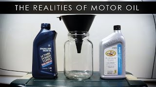 Motor Oil | Fine Print and Misconceptions