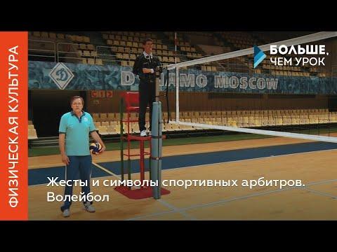 Жесты и символы спортивных арбитров. Волейбол