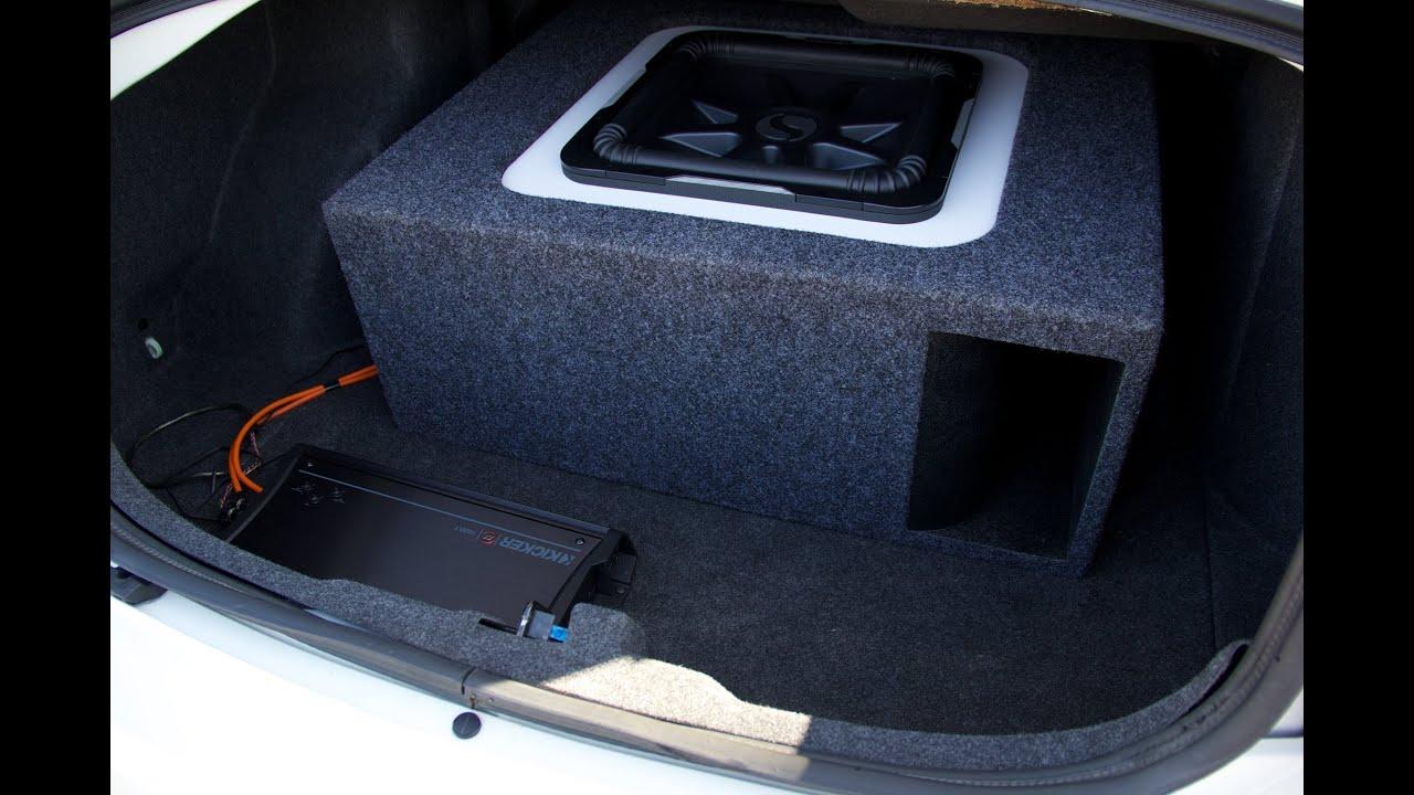 Custom Subwoofer Enclosure Kicker Square Solobaric 15 Quot L7