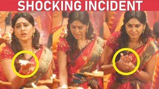 Manisha gets hurt duringc Shooting! | Sandi Muni Live Shooting Spot
