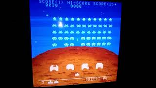 Space Invaders DX (Taito) PCB repair #1