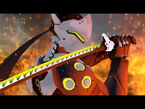 BEST GENJI DEFLECTS - Overwatch Montage