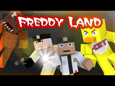 """Minecraft Five Nights at Freddy's 3 """"ADVENTURE MAP"""" Freddy Land Ep.3"""