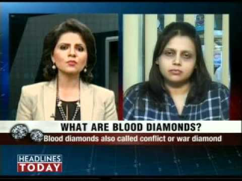Blood diamonds being used for money laundering says customs...
