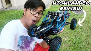 ACTION PACKED Gearbest Highlander 1:12 RC Test Drive And Review