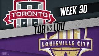 Toronto FC II vs Louisville City FC: October 5, 2018