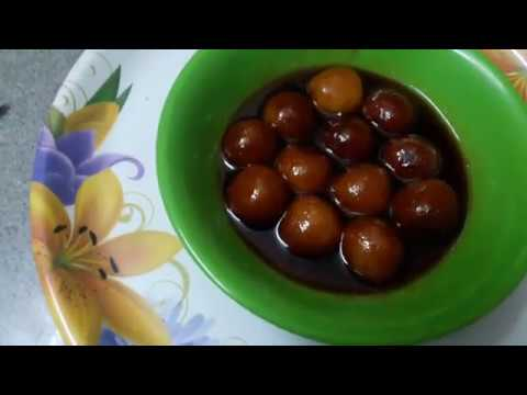 Bread Gulab jamun Recipe in Tamil / How to make Gulab jamun in Tamil?.......